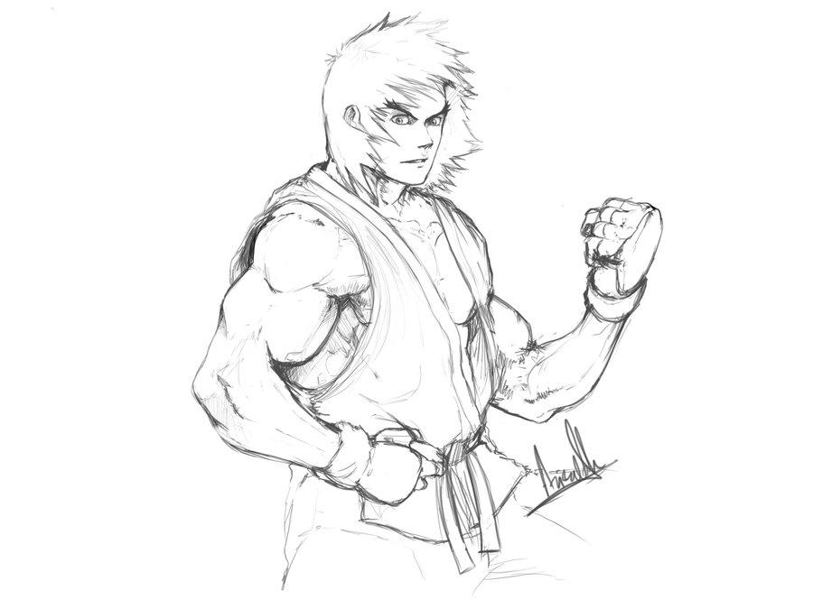 900x675 Ken Sketch By Molee