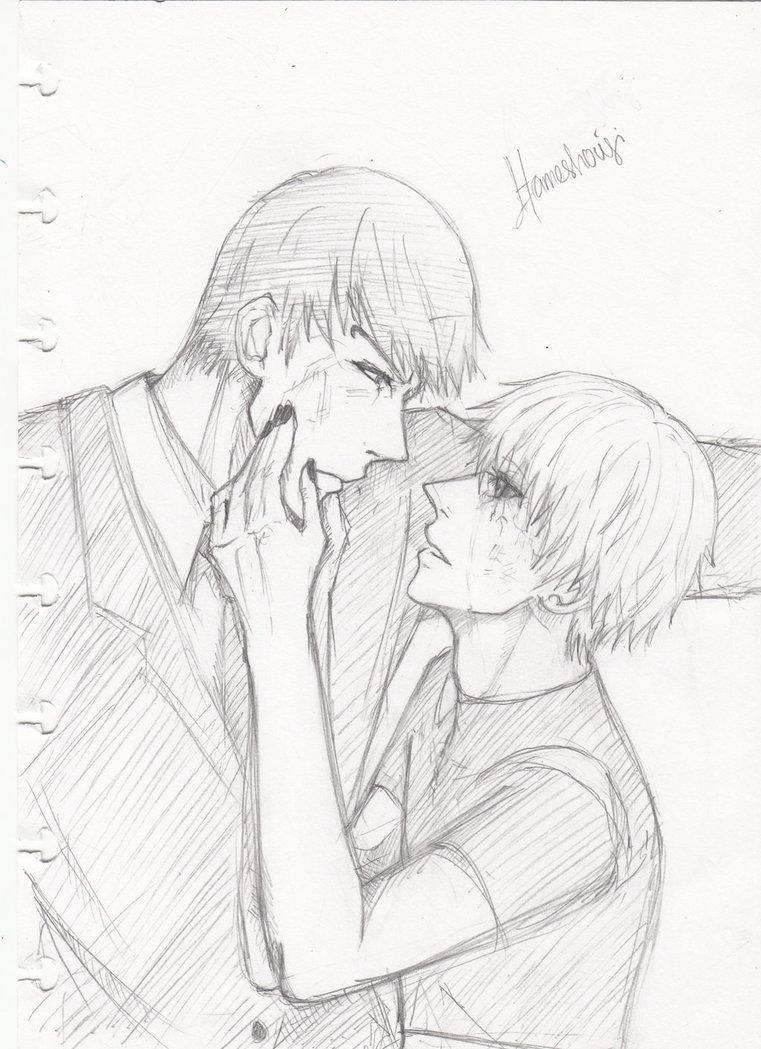 Ken Kaneki Drawing