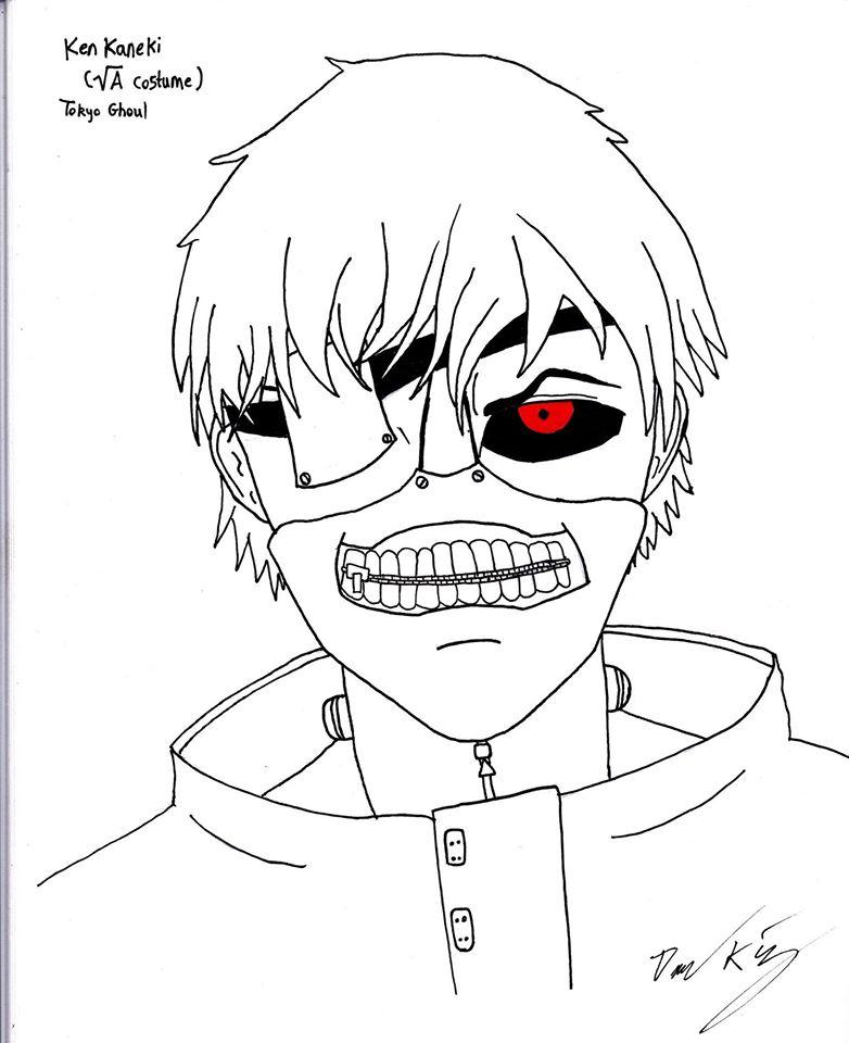 782x960 Old Sketch Of Ken Kaneki By Mrdanieljking
