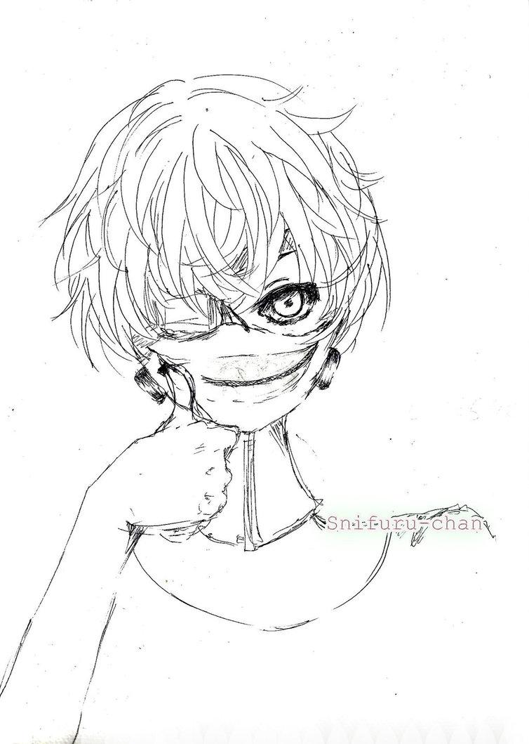 754x1059 Tokyo Ghoul (Ken Kaneki) Tbt By Chanseuli