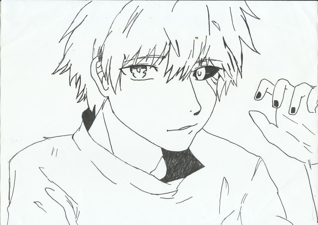 1280x906 Kaneki Ken (Tokyo Ghoul) By Rayen26