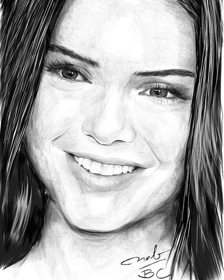 Kendall Jenner Drawing