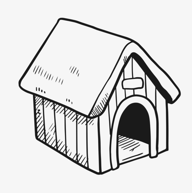650x651 Figure Painted Doghouse, Hand Painted Doghouse, Fig Kennel Png