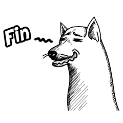 240x240 Lablae Kennel Line Stickers Line Store