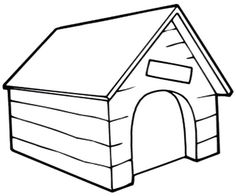236x196 Dog Kennel Colouring