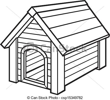 450x411 Dog Kennel Colouring