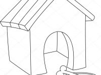 200x150 Dog Kennel 13 Buildings And Architecture Printable Coloring Pages