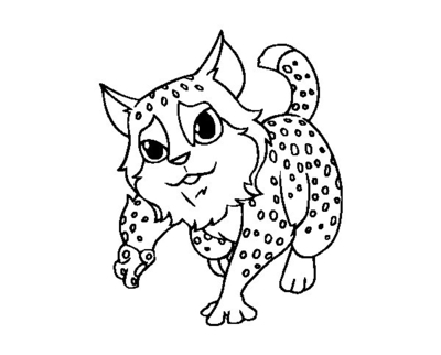 400x322 Wildcat Coloring Pages European Wildcats Page