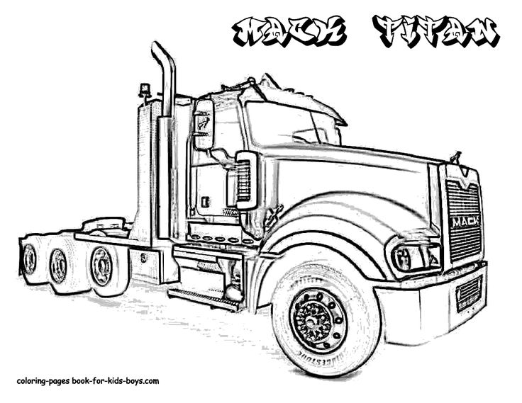 Kenworth Drawing