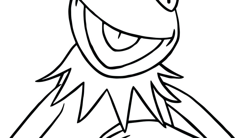 960x544 Kermit The Frog Coloring Pages Click To See Printable Version