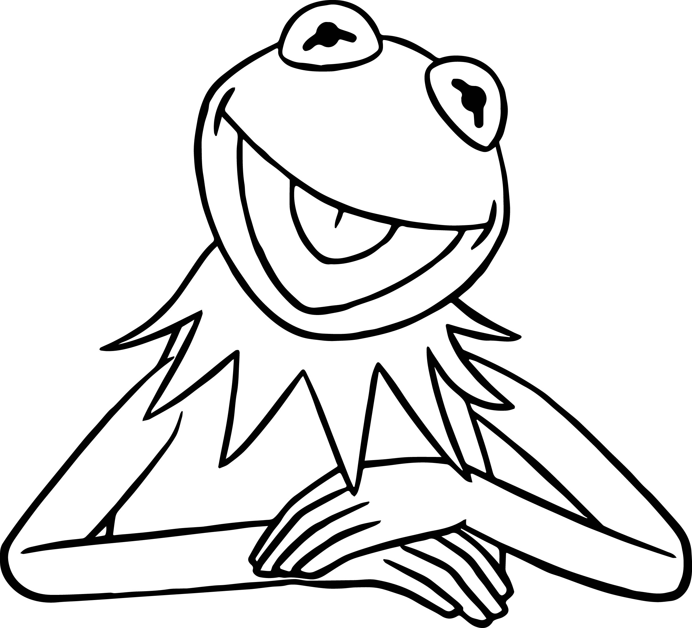 2425x2199 Drawing Kermit The Frog