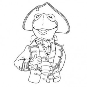300x300 Kermit The Frog Coloring Pictures Free Download