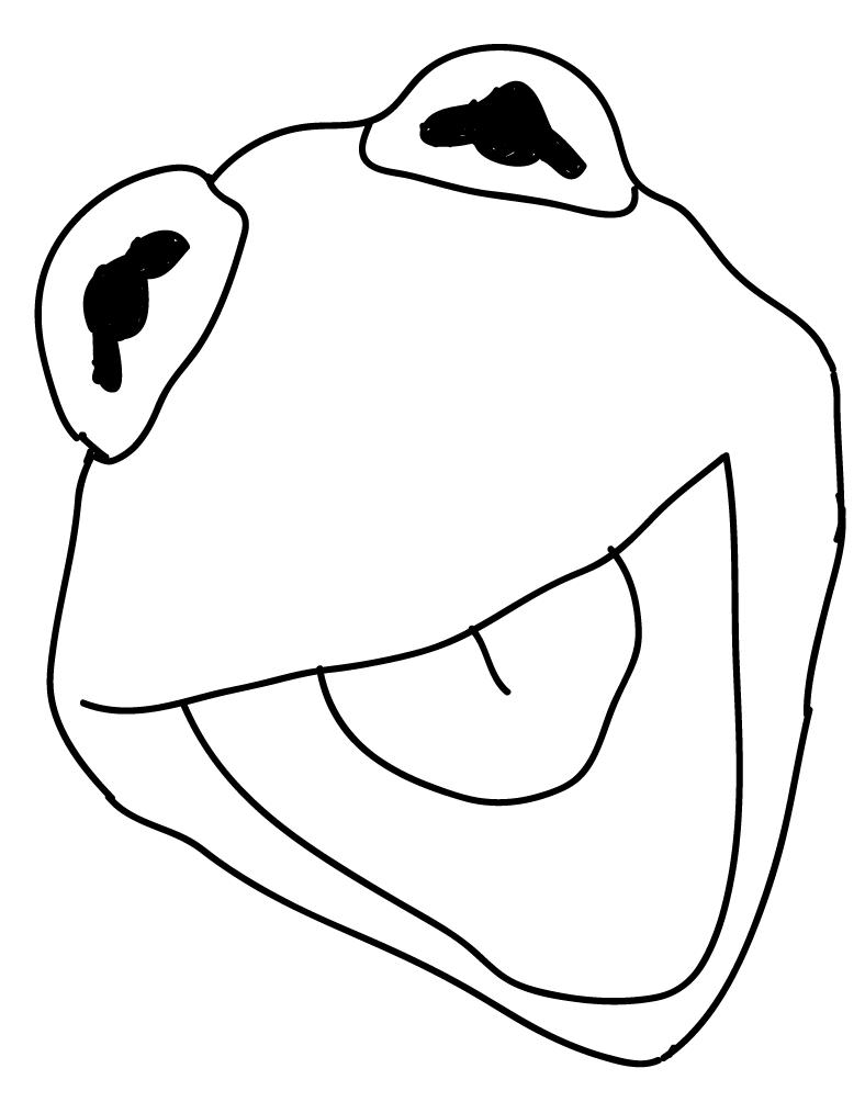 788x1004 Kermit The Frog Chief's Art