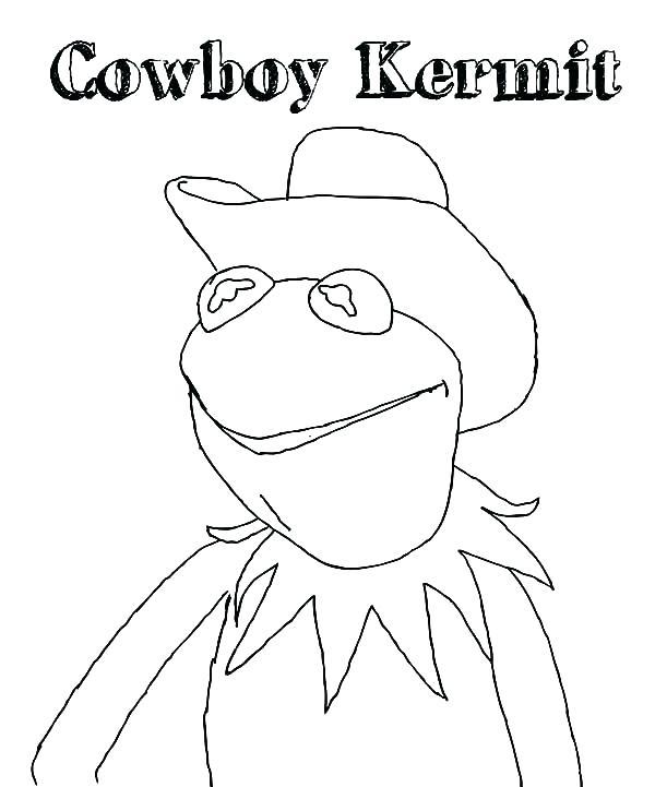 600x721 Kermit Coloring Pages