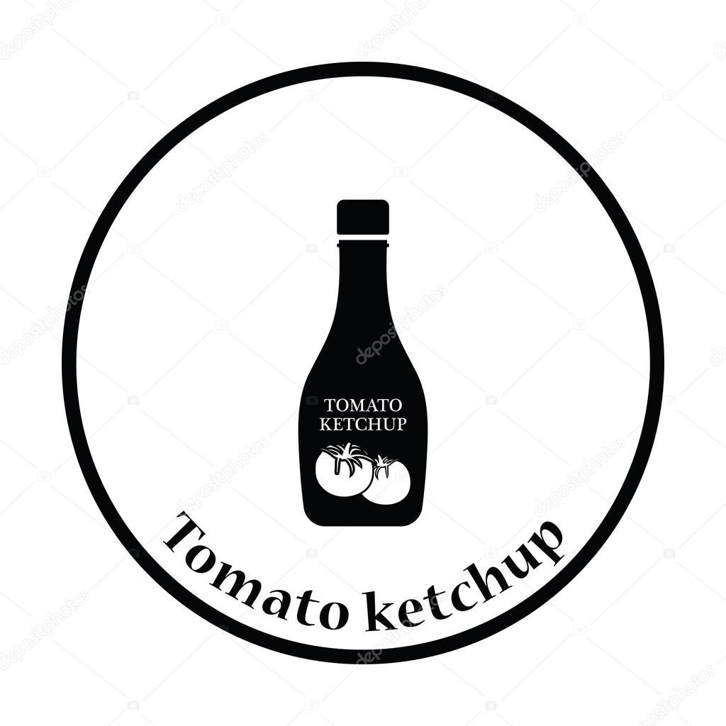 1024x1024 Tomato Ketchup Icon Stock Vector Angelp