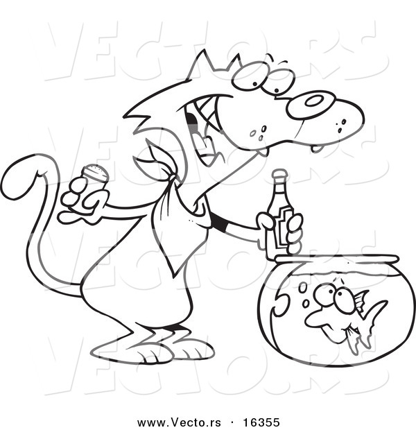 995x1288 Tommy Ketchup Shopkins Coloring Pages Collections 4 600x620 Vector Of A Cartoon Cat Seasoning Goldfish With