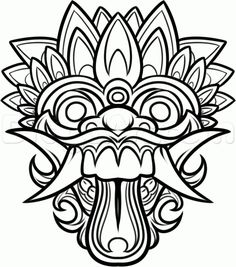 236x267 Balinese Mask Crafts For Kids Classroom Ideas