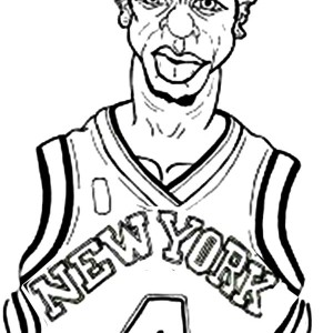 300x300 Kevin Durant Is Nba Player Coloring Page Kevin Durant Is Nba