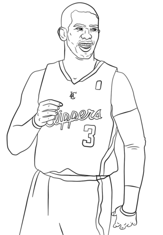333x480 Chris Paul Coloring Page Free Printable Coloring Pages