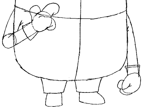 500x373 How To Draw Tim The Minion From Despicable Me With Easy Step By