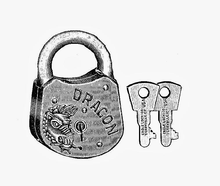 758x641 Digital Stamp Design Free Lock And Key Digital Stamps 2 Vintage