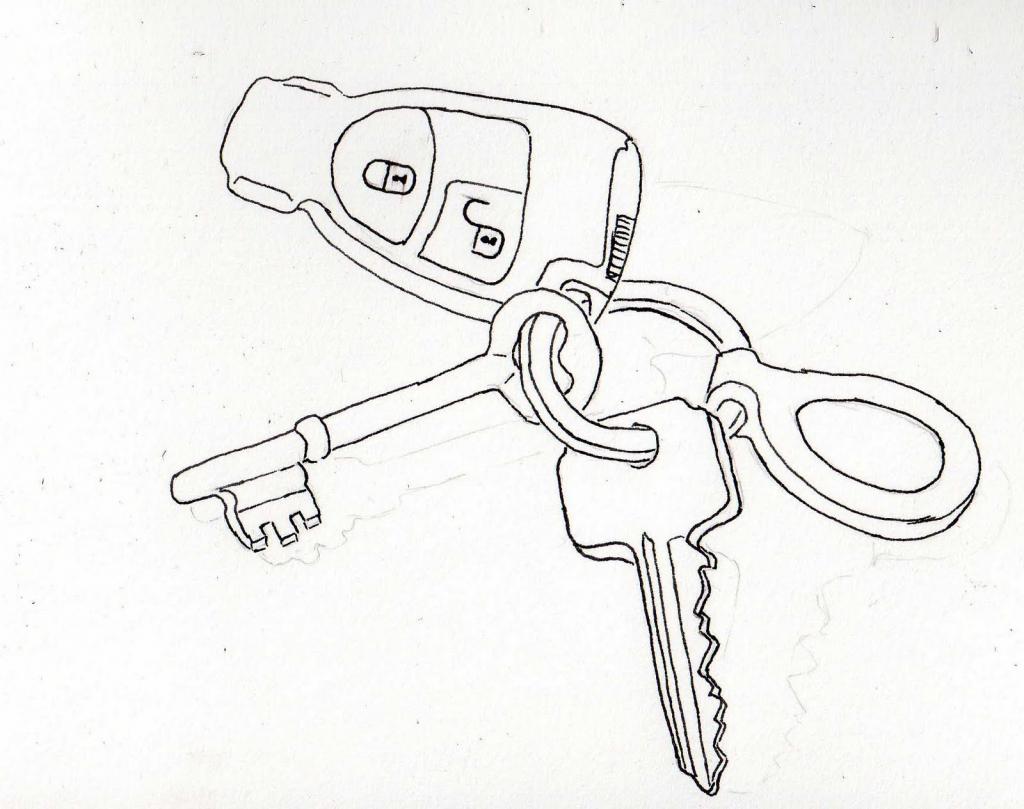 1024x809 How To Draw A Key Keys To Drawing Tookogie