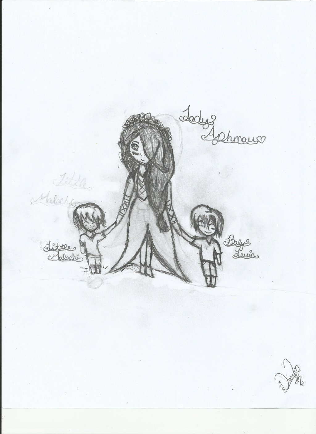 1024x1408 Aphmau And Her Boys By The Silver Key