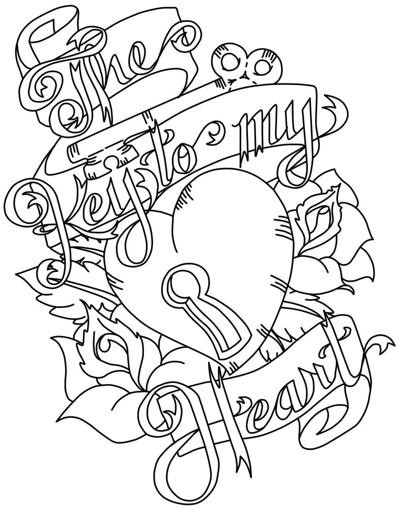 782x1000 Key To My Heart By Rhiannonhasregrets
