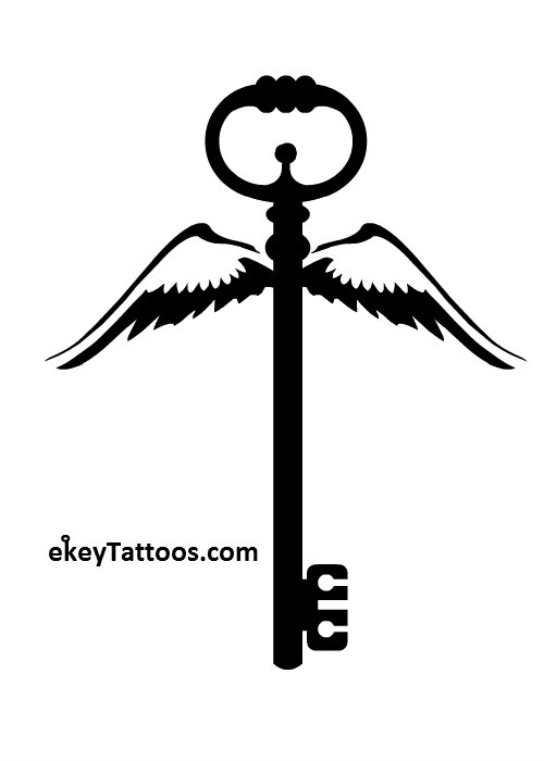 500x700 Funky Key Tattoo Design In 2017 Real Photo, Pictures, Images