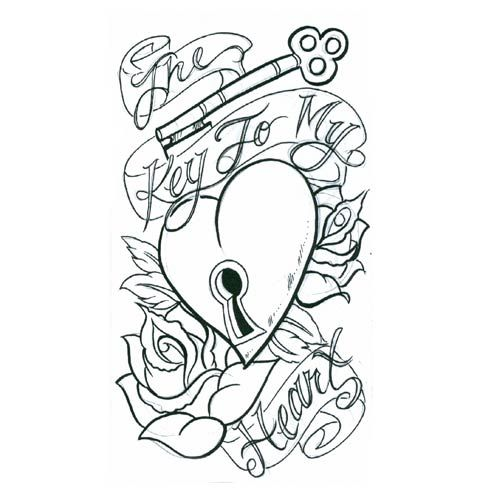 500x500 Heart Tattoos Heart Tattoo Designs And Tattoos And Body Art