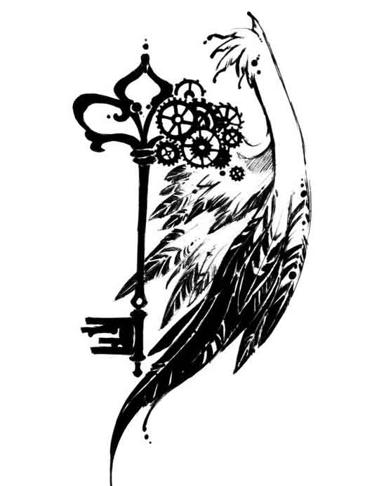 550x692 Best Collection Of Tattoo Illustration Designs For Your