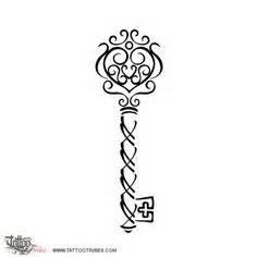 236x236 Simple Heart Key Tattoo Designs Key Tattoos On Tattoo
