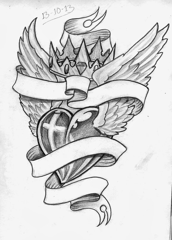 578x808 Tattoo Sketch A Day October 2013