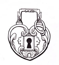 236x257 Vintage Ornate Key Holes Keyholes Digital Collage By Graphique