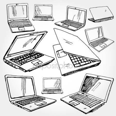 450x450 Laptop Stock Vectors, Royalty Free Laptop Illustrations