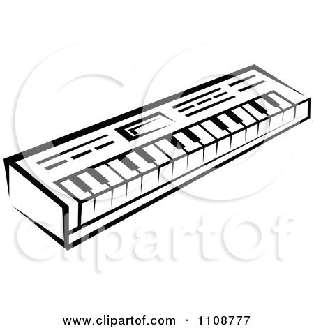 450x470 Drawn Keyboard Piano