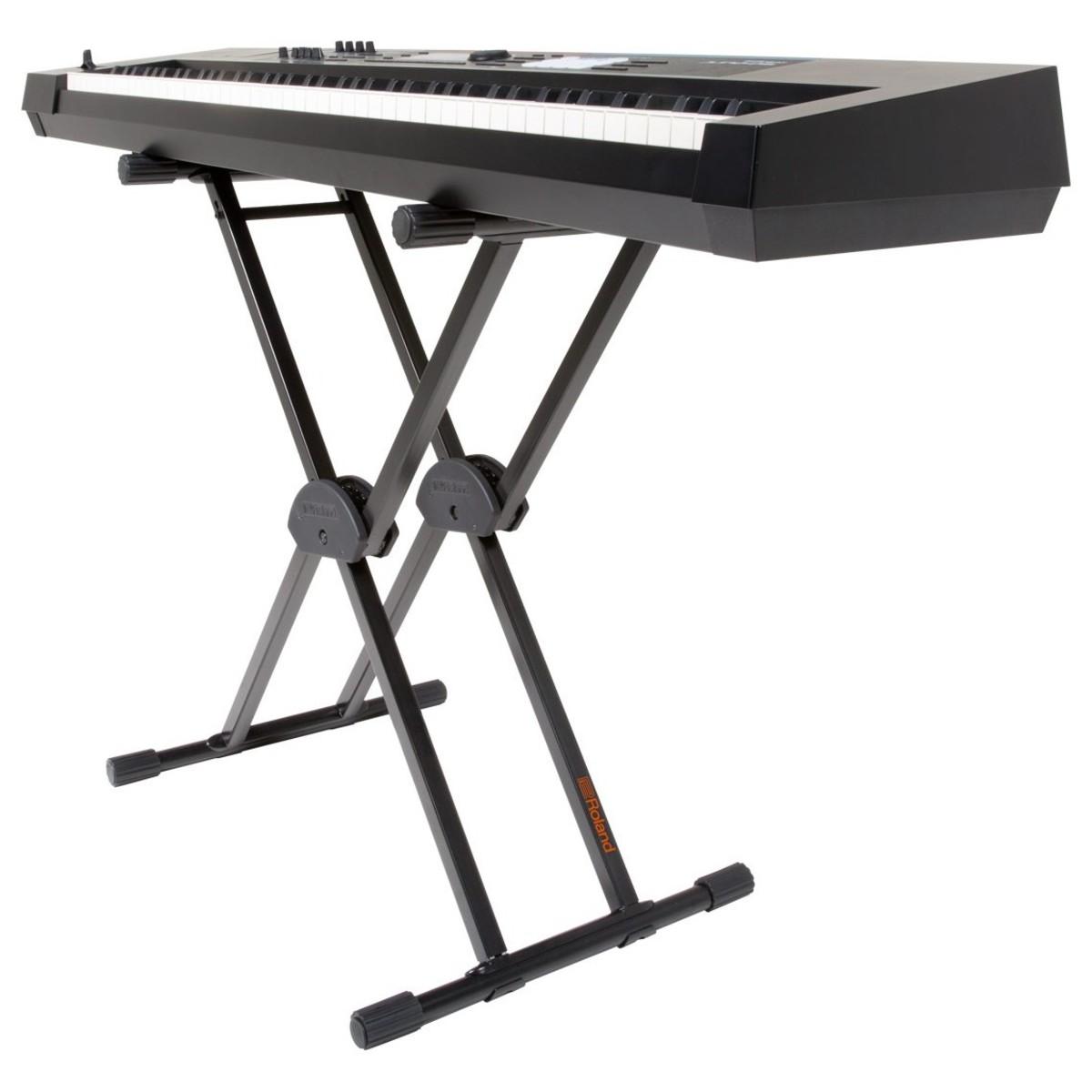1200x1200 Roland Ks 20x Double Brace Keyboard Stand