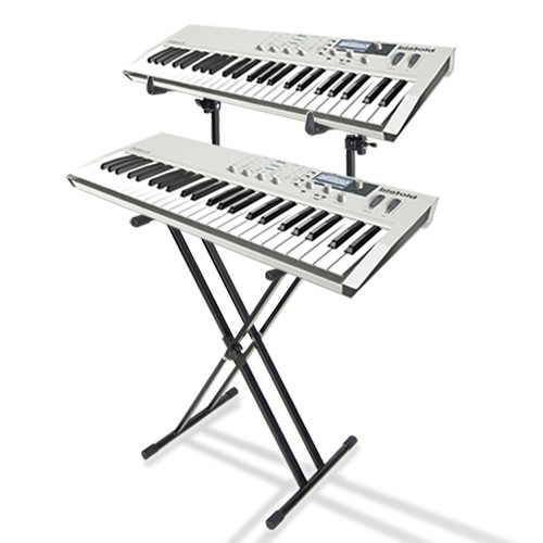 500x500 Buy Cheap 2 Tier Double Braced Music Piano Keyboard Stand Online