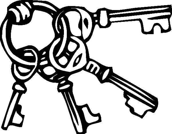 600x467 Keyring Key Ring Clip Art