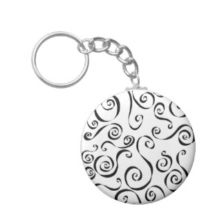 324x324 Whimsical Drawings Keychains Zazzle