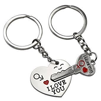 342x342 Chinkyboo Arrow Amp I Love You Heart Amp Key Lovers Couple Key Chain