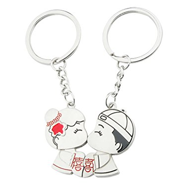 385x385 Couple Bag Keyring Lovers Keychain Clothing