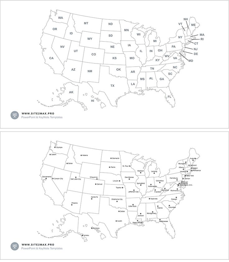 736x845 Us Map Keynote
