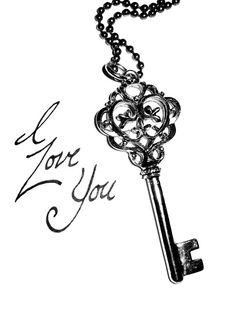 236x314 Old Fashioned Key Illustration Draw On Me. Key