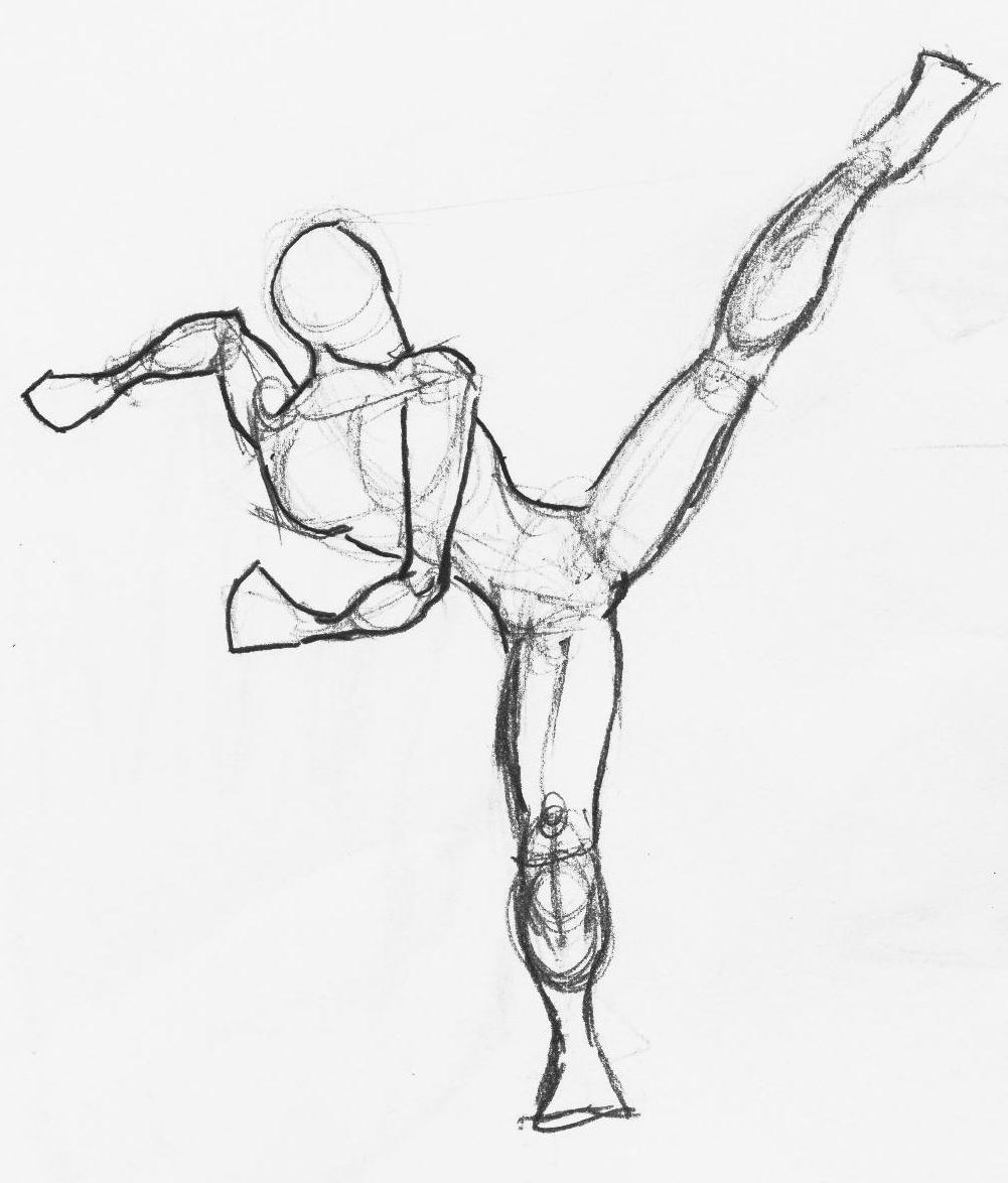 1001x1174 High Kick By Davian714
