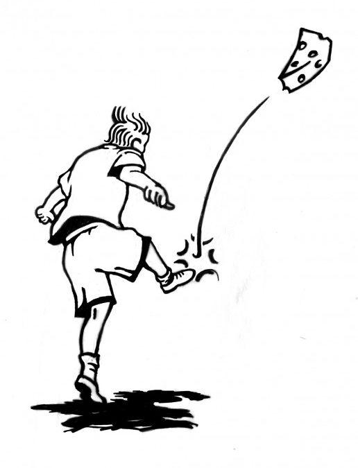 516x675 Kick Cheese A Limerick Randal Birkey Illustration