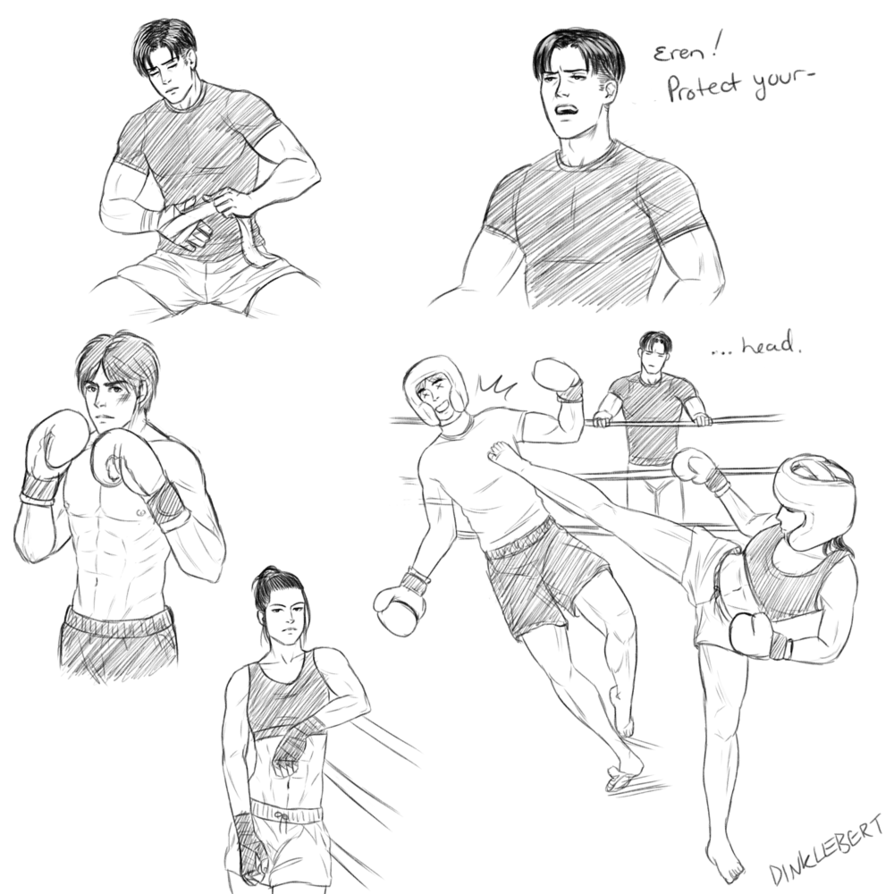 894x894 Kickboxing Au By Dinklebert