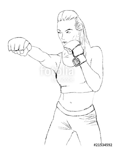 387x500 Cardio Kickboxing Stock Image And Royalty Free Vector Files