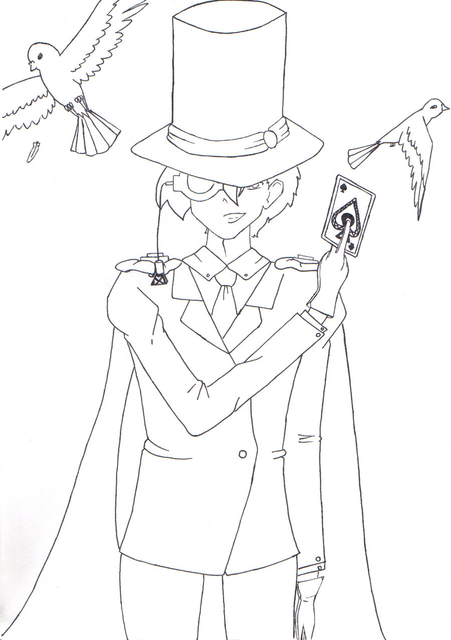 900x1276 Kaitou Kid By I Love Drawing Dp