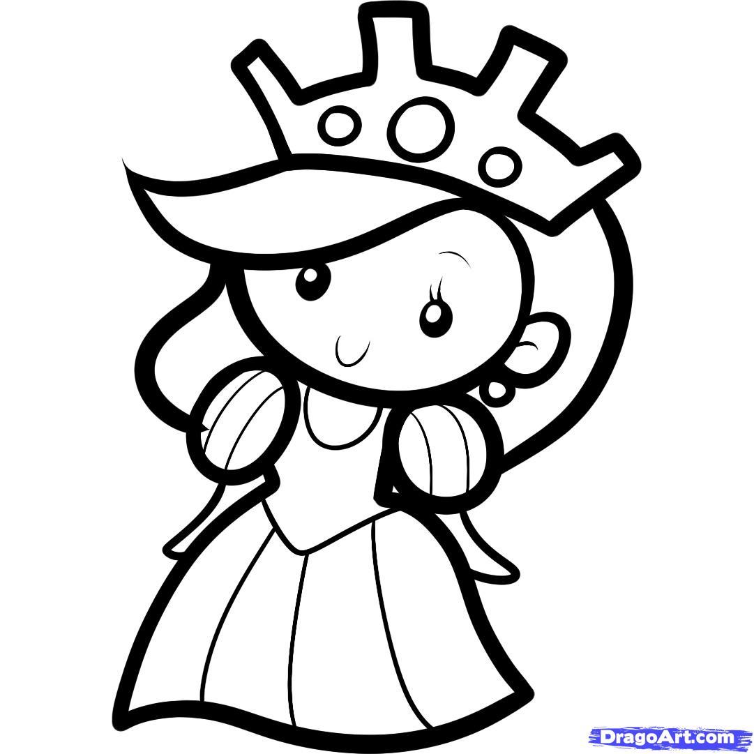 1081x1081 Simple Drawing For Kid Queen Httpwww.dragoarttuts1095411how